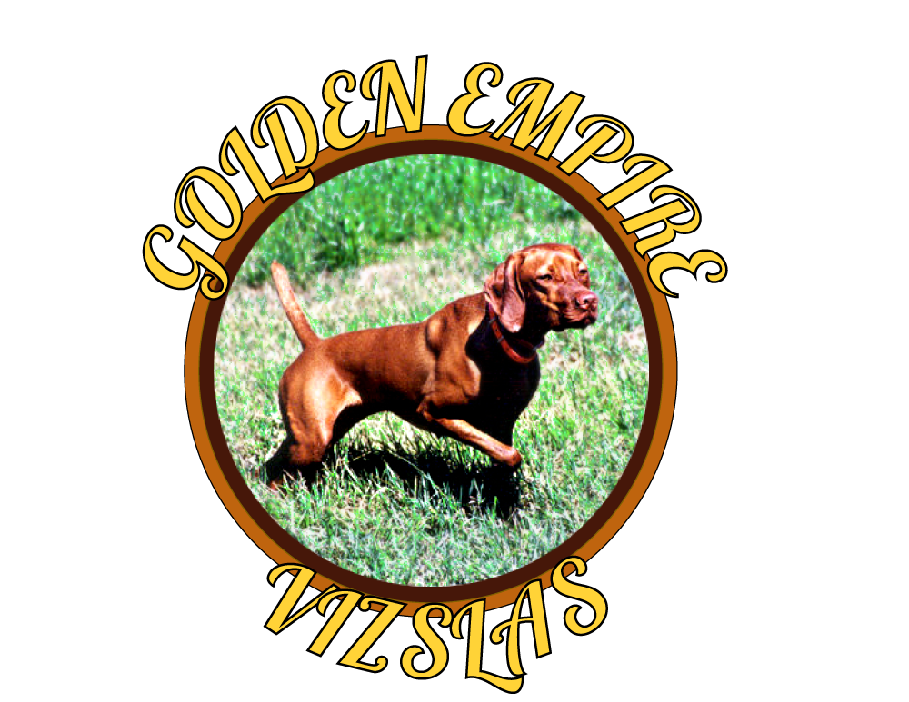 Golden Empire Vizslas Logo